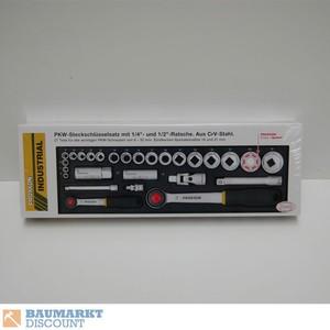 Proxxon Steckschlüsselsatz 1/2 + 1/4´´ 27 TLG NR. 23020 ´´