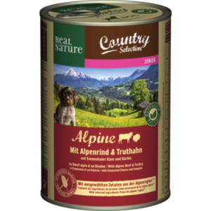 REAL NATURE Country Selection Junior 6x400g