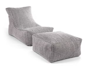 SITTING POINT Sitzsack Funk Set Stilo grau