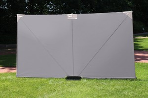 LECO - Mobiler Sichtschutz, Farbe: anthrazit