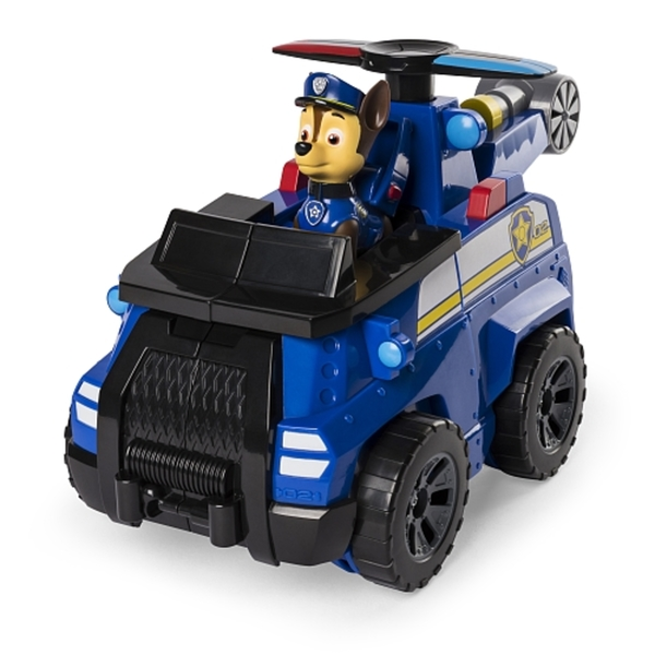 Paw Patrol - Flip and Fly Fahrzeuge, Chase