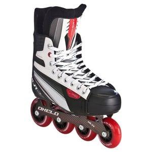 OXELO Inline-Skates inliner Hockey XLR 3 Herren schwarz/weiß/rot, Größe: 39
