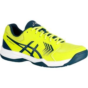 ASICS Tennisschuhe Gel Dedicate Multicourt Herren gelb, Größe: 6.5- M40.5 W40