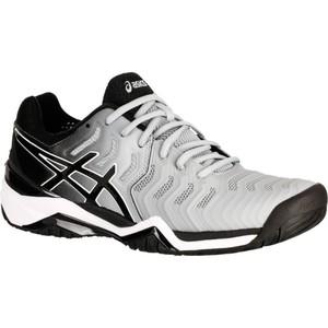 ASICS Tennisschuhe Gel Resolution 7 Herren grau, Größe: 6.5- M40.5 W40