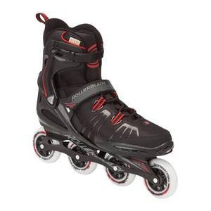 ROLLER BLADE Inline-Skates Inliner XL für Übergrößen 48-52 schwarz/rot, Größe: 32cm