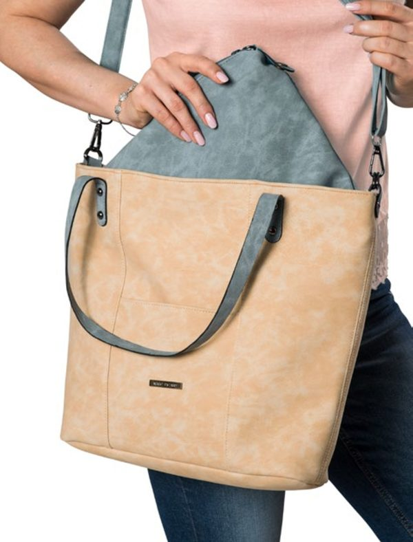 MARC PICARD Bag-in-Bag  Schultertasche