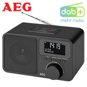DAB+-/UKW-Radio 4154 PLL-UKW-Radio mit RDS, 3-zeiliges LC-Display, Alarm-Funktion, Aux-In