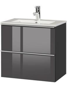 Waschplatz »Malaga 600«, SlimLine, Breite 60 cm, Tiefe 36 cm, (2 tlg.)
