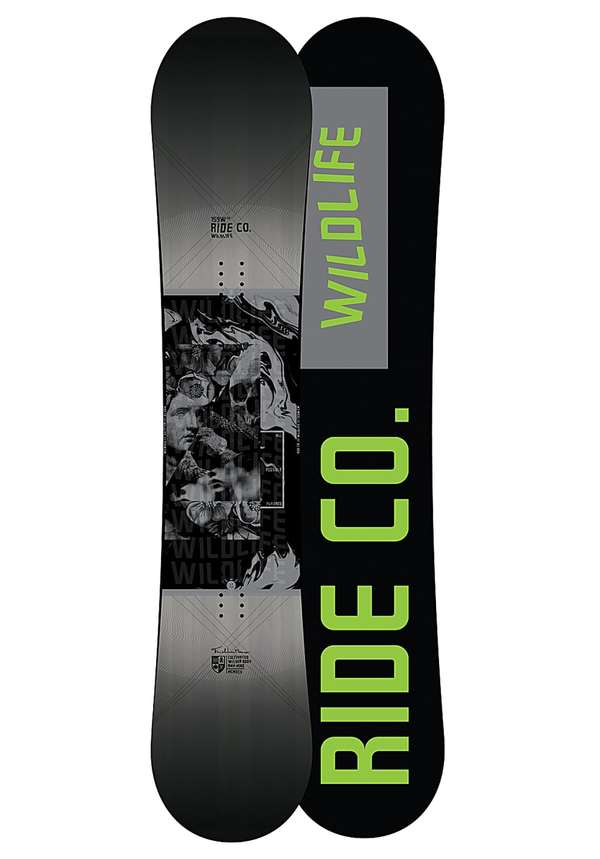 Ride Wild Life Wide 159cm - Snowboard für Herren - Mehrfarbig