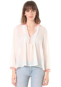 Rich & Royal Blouse - Bluse für Damen - Weiß