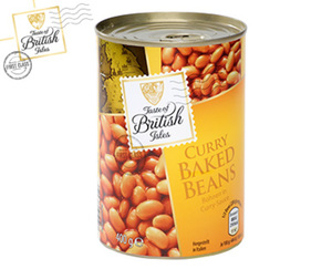 Taste of British Isles Flavoured Baked Beans