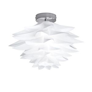 Deckenleuchte Bromelia Kunststoff Weiß 1-flammig