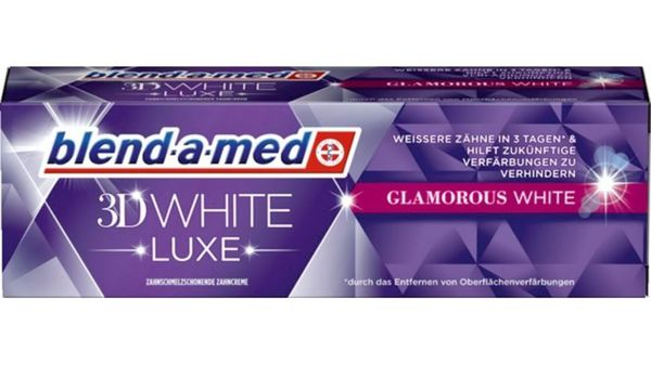 blend-a-med Zahncreme 3D White Luxe Glamorous White