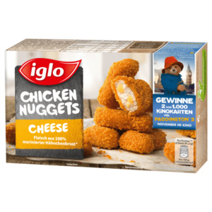 Iglo Gold Nuggets Cheese 250g