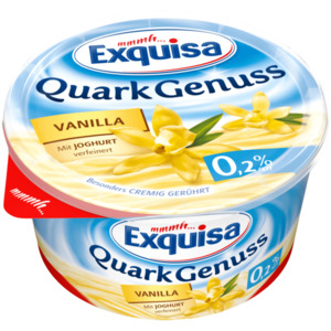 Exquisa QuarkGenuss Vanilla 0,2% 500g