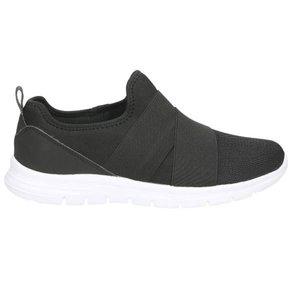 Slip-On Sneaker, schwarz