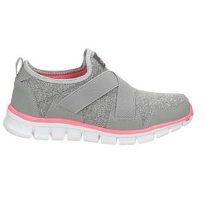 Slip-On Sneaker, mittelgrau