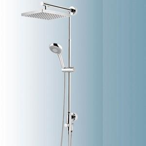 Schulte DuschMaster Rain mit Umsteller Kopfbrause eckig Nr. D9631 02