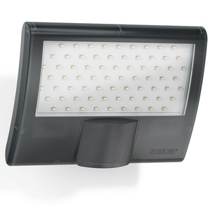 Steinel LED Strahler XLED Home curved 10,5W anthrazit IP44