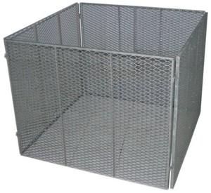 TrendLine Metall-Komposter ,  100 x 100 cm