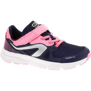 KALENJI Laufschuhe Ekiden Active Kinder blau/rosa, Größe: 29