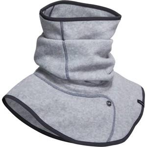 FOUGANZA Rundschal Fleece Erwachsene grau meliert, Größe: Einheitsgröße