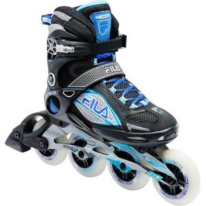 FILA Inline-Skates Inliner Fitness Primo LX 90 Damen schwarz/blau/weiß, Größe: 36