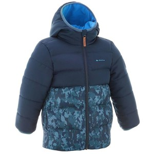 QUECHUA Wattierte Jacke X-Warm Kinder blau, Größe: 2 J. - Gr. 86