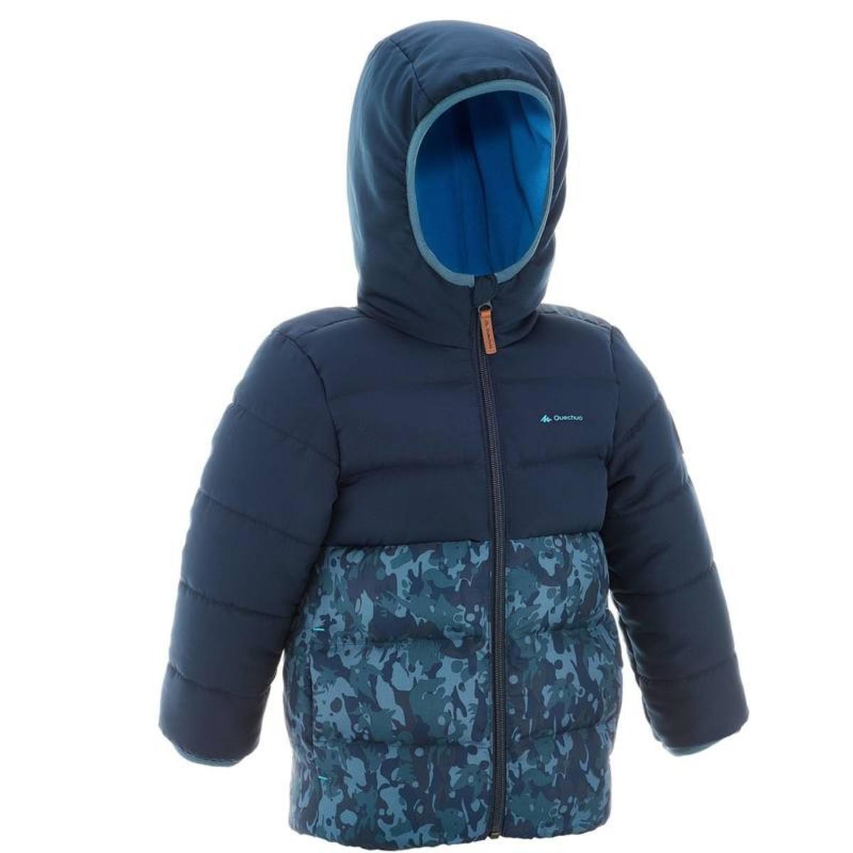 Bild 2 von QUECHUA Wattierte Jacke X-Warm Kinder blau, Größe: 2 J. - Gr. 86