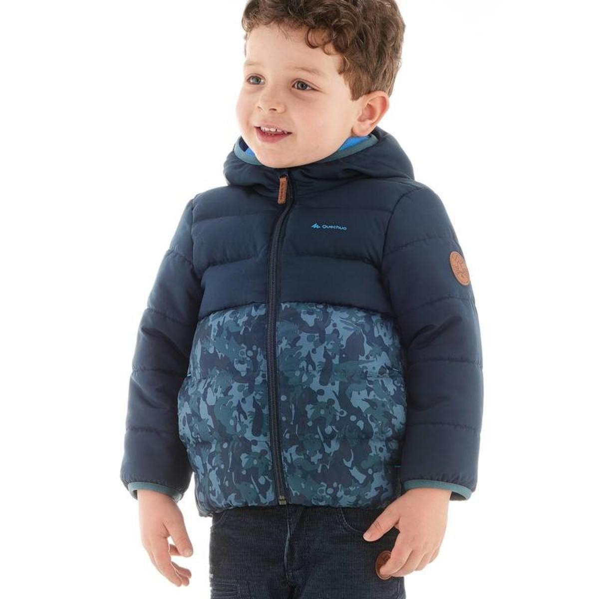 Bild 4 von QUECHUA Wattierte Jacke X-Warm Kinder blau, Größe: 2 J. - Gr. 86
