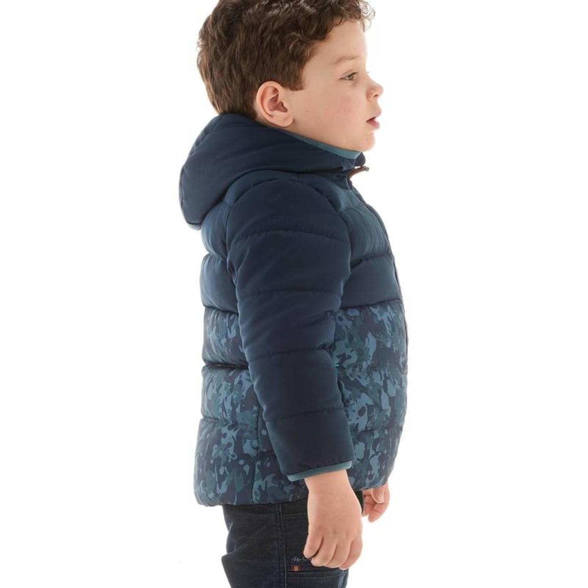 Bild 5 von QUECHUA Wattierte Jacke X-Warm Kinder blau, Größe: 2 J. - Gr. 86