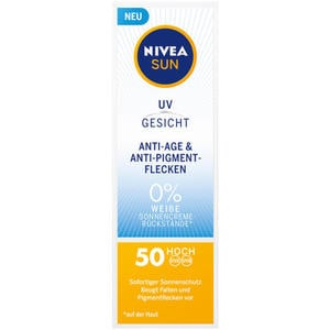NIVEA SUN UV Gesicht Anti-Age & Anti-Pigmentflecken S 19.98 EUR/100 ml