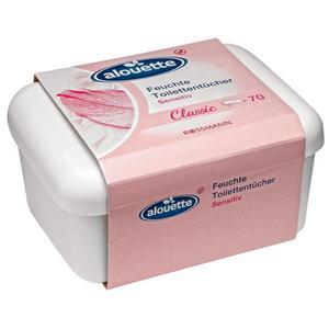 alouette feuchte Toilettentücher sensitiv Classic 70 St.