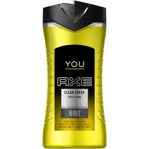 AXE YOU 6in1 All Over Bodywash Clean Fresh 0.60 EUR/100 ml
