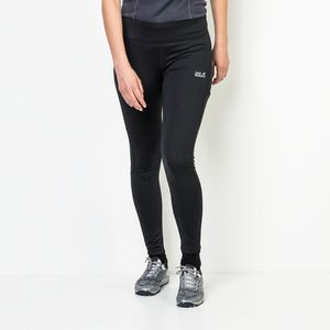 Jack Wolfskin Laufhose Frauen Athletic Tights Women M schwarz