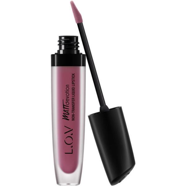 L.O.V MATTDEVOTION non-transfer liquid lipstick 750