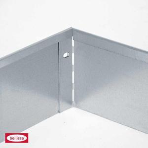 Metall-Rasenkante, 118x20 cm, verzinkt