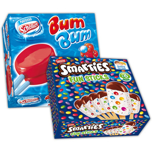 Nestlé/Schöller Bum Bum / Smarties Fun Sticks