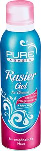 Pure & Basic Rasiergel women