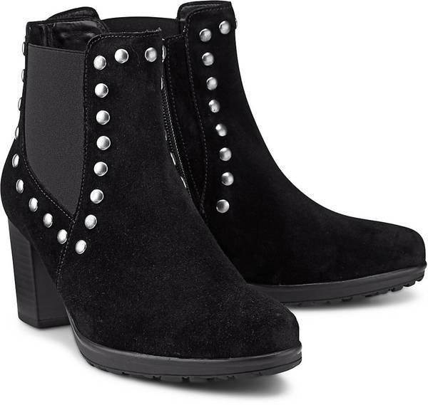 Chelsea Boots Athen von Gabor in schwarz für Damen. Gr. 41