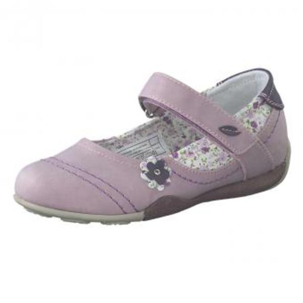 gut aussehend Schuhe für billige Neue Produkte Puccetti Spangenballerina Mädchen lila