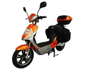 Rolektro eco-City 20 V.2 Plus, Orange/Silber, Elektroller 20 Km/H