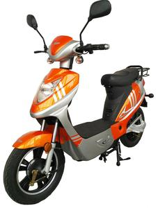 Rolektro eco-City 20 V.2, Orange/Silber, Elektroroller, 20 Km/H