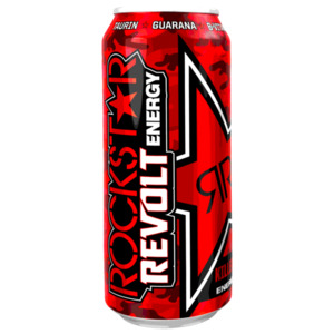 Rockstar Revolt Killer Cherry Energy Drink 0,5l