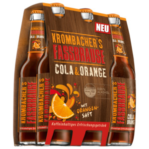 Krombacher Fassbrause Cola Orange 6x0,33l
