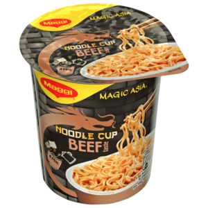Maggi Magic Asia Instant Noodle Cup Beef 63g