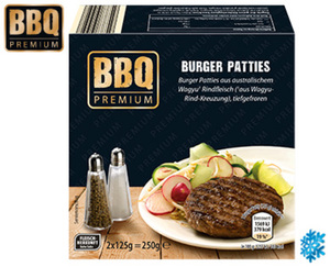 BBQ PREMIUM Burger Patties