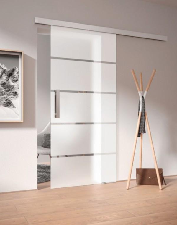 Baumarkt Schiebetür glas-schiebetür , klarglas dekor s 36/03 esg von globus baumarkt