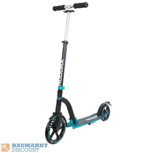 Hudora Scooter Big Wheel Bold Cushion türkis/schwarz Nr. 14243