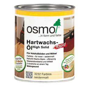 Osmo Hartwachs-Öl Rapid 0,75 ltr. 3232 Farblos Seidenmatt